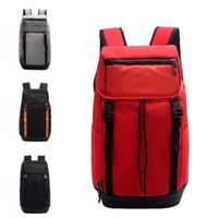 Wholesale orange sports backpacks resale online - Fashion Brand Designer Backpack Men Women Designer Bags Large Capacity Waterproof Training Travel Bags Shoes Bag