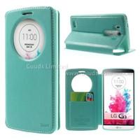 Wholesale lg g3 metal case online – custom Roar Korea Noble Quick Circle Leather Flip Cover for LG G3 D850 D855 LS990