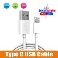 Wholesale note3 cable for sale – best 1M Cable Line Micro Usb Charging Type C Data cable Cord For Samsung Note3 S5 For FT Type C Android Iphone
