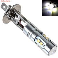 h1 cree bulb venda por atacado-50w 2x H1 LED CREE XBD chips Nevoeiro Lâmpadas LED diurnas luzes lâmpadas H1 Nevoeiro condução (H3 Disponível)