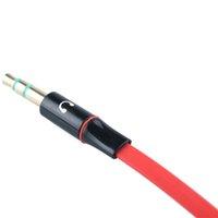 соединительные шнуры оптовых-3,5 мм Наушники для наушников Аудиокабель Микрофон А Разветвитель Адаптер 1 штекер на 2 штекера Подключен шнур к ноутбуку