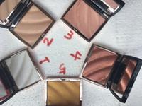 resplendor em destaque em pó venda por atacado-2020 NOVO Maquiagem Iluminador 5 cor de envio Marcador surligneur Marcador gratuito