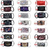 Wholesale print mask for sale - Group buy Fashion Designer Face Masks Luxury Mask Washable Cloth Dustproof Respirator Outdoor Cycling butterfly Flower Print Masks for Women Men