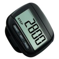 mini contador de pasos digital al por mayor-Calorie Accurate Step Step Podómetro LCD para caminar con clip Fitness Ejercicio Digital Counter Mini