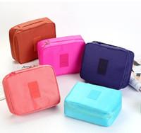 jóias universais venda por atacado-Viagem Marca Case telefone Zipper Armazenamento Até Cosmetic Bag da Mulher Lady Wash Makeup Bag kit de higiene jóias Organizador de multi bolsa Handbag