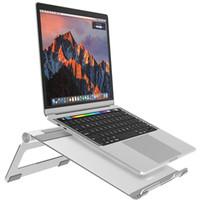 держатель для нескольких автомобилей оптовых-Nulaxy регулируемая Multi-угол ноутбук стенд для Apple MacBook Air 7-17 дюймов Tablet Desktop Holder с противоскользящим силиконовый коврик автомобиля