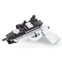 Wholesale toys robot gun for sale - Group buy Fast Ship Transformation Robot Pistol Gun Model Building Blocks Toys Legoing Playthings Compatible Assemble For Children Boys Gift