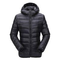 Zogaa Frauen Ultraleichte Daunenjacke Mit Kapuze Wintermantel Slim Fit Solide Reißverschluss Mantel Herbst Winter Frauen Parka Jacke Outwear