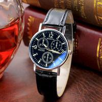 lista de marcas de relógios venda por atacado-Nova listagem Yazole Men relógios de luxo da marca relógios de quartzo relógio de moda cintos de couro assistir esportes baratos relógio de pulso relogio # 30