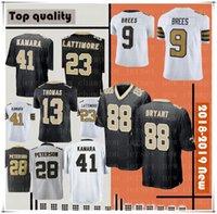 New Orleans Jersey Saints 9 Drew Brees 41 Alvin Kamara Mens 88 Dez Bryant 28  Adrian Peterson 23 Marshon Lattimore Stitched Jerseys cf6ade790