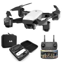 videos en vivo al por mayor-FPV RC Drone con video en vivo Regreso a casa RC plegable con HD 720P / 1080P Cámara Quadrocopter Juguete plegable VS DJI Mavic Air drone