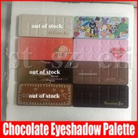 Wholesale black white eye shadow for sale - Group buy Face Makeup Sweet peach Eye Shadow White Chocolate Bar Semi sweet colors Semi Sweet Chocolate Gold Gingerbread Eyeshadow Palette