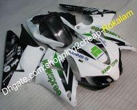 yamaha r1 carenados del mercado de accesorios al por mayor-Kit del mercado de accesorios del carenado R1 YZF-R1 para Yamaha YZFR1 1998 1999 YZF1000R1 YZF 1000 Blanco Negro Verde Carenados de Spann (moldeado por inyección)