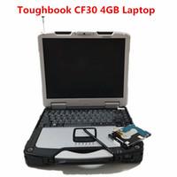 ingrosso diagnostica del computer di nissan-Toughbook CF30 computer portatile per auto diagnostiche Toughbook cf30 portatile da 4 GB può funzionare per tutti i dati e software di mitchell mb star C5 ICOM A2