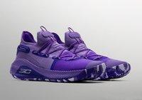 zapatos de baloncesto para niños a la venta al por mayor-Nuevos niños Currys 6 United We Win zapatos venta caliente con caja Stephen 6 niños tienda de zapatos de baloncesto envío gratis size36-46