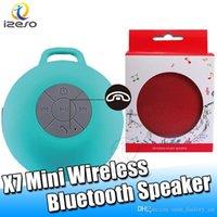 colunas para bluetooth portáteis venda por atacado-X7 Bluetooth Pano Arte sem fio Speaker Buckle Speaker Portátil Outdoor Super Bass Handsfree Chamada Mini alto-falantes com izeso embalagens de varejo