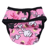Wholesale female dog diapers for sale - Group buy Pet Large Dog Diaper Sanitary Physiological Pants Washable Female Dog Shorts Panties Menstruation Underwear Briefs Short
