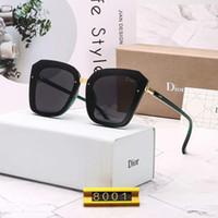 quadro preto de grandes dimensões de suas lentes claras venda por atacado-Designer de óculos de sol de luxo óculos de sol designer de vidro para mulheres moda óculos adumbral modelo uv400 80015 cores de alta qualidade com caixa