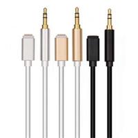 iphone cabo de usb noodles venda por atacado-3,5 mm de áudio Cabo de Extensão Aux Cord Car Speaker Headphone Connector