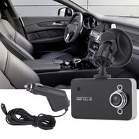 cámara del tablero del vehículo full hd al por mayor-Full HD 720 P PANTALLA TFT Cámara Coche DVR Cámara Grabadora Dash Cam Camcorder Vehículo Con registrador G-sensor con Box Box Envío gratuito