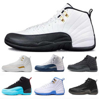 Wholesale retro sport basketball shoes online - 12s XII Air Mens Basketball Shoes Retro for Women Running Shoes Top quality Designer Luxury Sneakers Brand Trainers Sports Maxes Shoes
