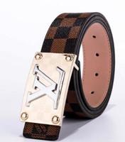 cinturones de hombre de marca al por mayor-Cinturones de marca de moda Cinturón de lujo de diseño de alta calidad F Alta calidad H Hebilla lisa Cinturones de hombre para mujer Jeans Correa Cinto