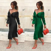 Wholesale woman dress for sale - Group buy Women Summer Boho V neck Maxi Dress Evening Party Cocktail Beach Sundress