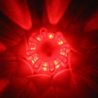 lumières stroboscopiques menées magnétiques achat en gros de-Signal de route de bicyclette magnétique LED Flare Light Flash d'urgence Stroboscope Avertissement de sécurité 3 Modèle 8 LEDsYS-BUY