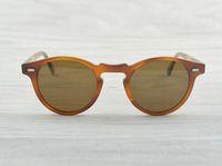 Wholesale oliver people sunglasses for sale - Group buy Gregory Peck Brand Designer mm mm men women Sunglasses oliver Vintage Polarized sunglasses peoples OV5186 retro Sun glasses OV