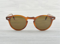 Wholesale oliver people sunglasses resale online - Gregory Peck Sun Men mm mm Women Sunglasses Sunglasses Designer Polarized OV Peoples OV5186 Retro Brand Glasses Oliver Vintage Ulgf