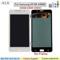 tela de toque a9 venda por atacado-6 polegadas Para Samsung A9 A900 A9000 A9 Mudança OLED Display LCD Touch Screen digitalizador Assembly Para Samsung A9 Tela