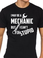 bed7377777 Mechanic T Shirt gift funny present novelty tee Funny free shipping Unisex  Casual