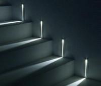 innenwandbeleuchtung leuchter großhandel-Einbau 3W LED Treppenlicht Rechteck AC100-240V Indoor LED Wandleuchte Beleuchtung Treppen Schritt Treppe Flur Treppe Lampe