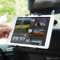 mini pc steht montiert großhandel-Tablet Autohalterung Ständer für Ipad 2/3/4 Air Pro Mini 7-11 'Universal 360 Rotation Halterung Rücksitz Autohalterung Handauflage PC