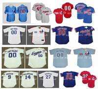 Wholesale Vintage Montreal Expos Jersey VLADIMIR GUERRERO GARY CARTER CLIFF FLOYD JOSE CANSECO PEDRO MARTINEZ TIM RAINES RONDELL WHITE Retro Baseball