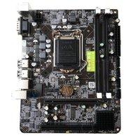 1156 motherboards großhandel-1156 Motherboard-CPU-Schnittstelle Intel P55 6-Kanal-PC-Mainboard Hochleistungs-Desktop-Computer-Mainboard LGA 1156 LGA 1156 Motherboard ...