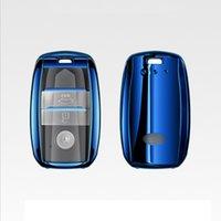 ingrosso copertura telecomando kia-Shell di copertura della cassa chiave a distanza automatica dell'automobile di brevetto TPU per Kia KX5 / K3S / RIO / Ceed / Cerato / Optima / K5 / Sportage / Sorento Accessori per auto Styling