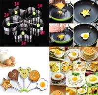 Wholesale stainless cook rings for sale - Group buy Stainless Steel Fried Egg Shaper Pancake Mould Mold Kitchen Cooking Tools Kitchen Fried Egg Shaper Ring Pancake Mould dc426