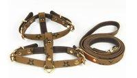 girasoles hechos a mano al por mayor-Cinturón de pecho para mascotas hecho a mano con girasol 2019 Nuevos artículos para mascotas de tracción para perros