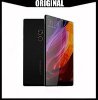 xiaomi phone оптовых-Глобальная версия Оригинальный Xiaomi Mi MIX смартфон 6.4 дюймов полный экран Snapdragon 821 6GB RAM 256GB ROM 2040x1080P xiaomi телефон с подарком