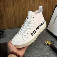 koreanische markenschuhe großhandel-2019 neue Winter high-top Schuhe, Freizeitschuhe Gezeiten männliche koreanische Version des Zustroms von Markensportschuhe Herren-Stiefel wirklich Pima Ding