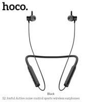 ipad kulaklıklar bluetooth toptan satış-Hoco S2 Anti-gürültü Bluetooth Kulaklıklar Kablosuz Spor Kulaklık Huawei Xiaomi iPhone iPad Samsung için Kulak Kulaklık