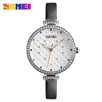 Wholesale fine leather watch straps for sale - Group buy Simple Quartz Watch Fashion Women Watches Bar Waterproof Leather Fine Strap Bright Stars Dial relogio feminino Lady Fashion