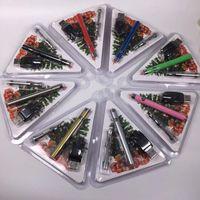 smart blister großhandel-Neue CE3 Vorwärmen VV Batterie 300mah mit 92a3 Patrone 0.5ml dickes Öl Blister Starter Kits Smart Carts Dank Vapes