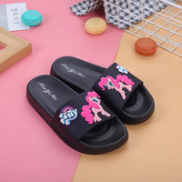 Wholesale baby girl cute sandals for sale - Group buy Cute Summer Girls Kids Slippers Flats Chinelo Cartoon Flip Flops Zapatillas Bebe Outdoor Baby Slippers Terlik Water Sandals Y190523