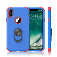 Wholesale galaxy light phone cases for sale - Group buy Kickstand Armor back mobile phone Triple combo case For Samsung Galaxy S10 Full body Rugged Case Galaxy S10 Smart Phone Case A