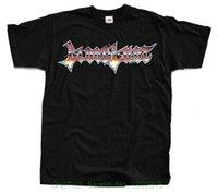 ingrosso migliori camicie maschili-Maglietta con logo in cotone naturale best seller per uomo con scollo tondo (nero) S - 5xl