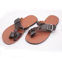dadee063afc5 Wholesale flip flop sales for sale - Buckle Slipper Flat Heel Flip Flops  Toes Shoes Ladies