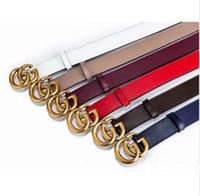 cinturones de cuero de diseñador para hombre blanco al por mayor-2019 hombres / mujeres cinturón para mujer de alta calidad de cuero genuino de color blanco y negro diseñador de cinturón de cuero de vaca para hombre cinturón de lujo envío gratis
