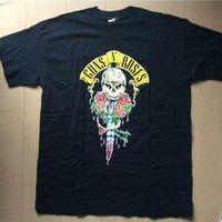ingrosso rose giapponesi-T-shirt DeadstoRock Guns N 'Roses 1991 Tour vintage XL BlaRock dal Giappone I5